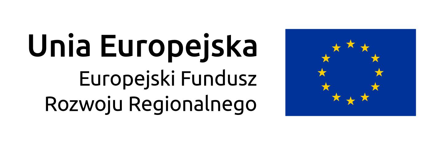 Logo Unii Europejskiej. Europejski Fundusz Rozwoju Regionalnego